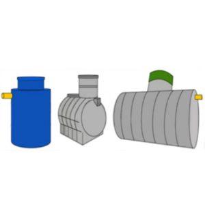 Резервуары для сбора сточных и дождевых вод