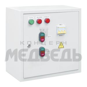 Блок управления воздухонагревательными установками типа ВНУ